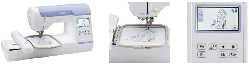Computerized Embroidery Only Machines: Brother PE 800