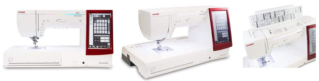 Sewing and Embroidery Machine Combo