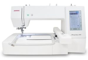 Janome 400E Embroidery Only Machine Review