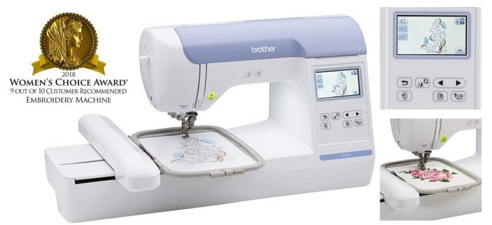 Brother PE800 Embroidery Review