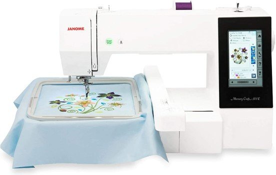 Janome 500E Embroidery Only Machine