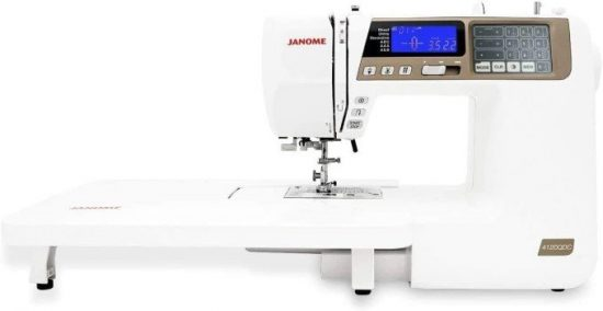Janome 4120QDC Sewing and Quilting Machine